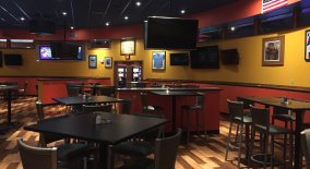 Inside T. McC's Sports Bar at the Island Resort & Casino in Michigan