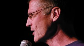 Comedian Leif Skyving