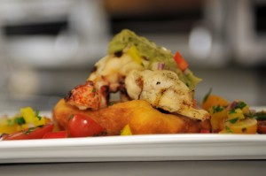 Grilled Lobster on Fry Bread
