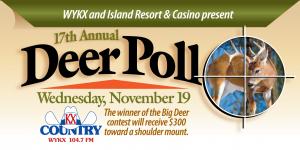 17th Annual Deer Poll