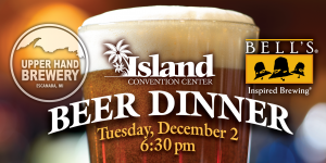 Upper Hand Brewery Beer Dinner Web Image