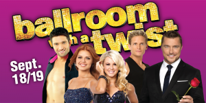 Web Header Headline - Ballroom With a Twist