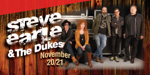 Web Header Headline - Steve Earle and the Dukes