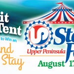 Web Header Promotion - Visit Us at The UP State Fair