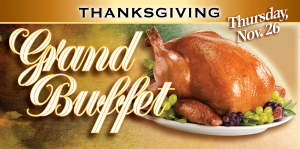 Web Header Promotion-November Thanksgiving Buffet