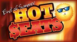 Web Header Promotion - End of Summer Hot Seats