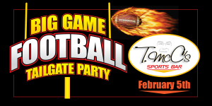 Big Game Tailgate Party Web Image