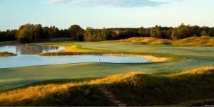Golf Photo Hole 18 Brian Oar
