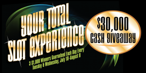 Web Header - Promotion - Total Slot Experience July 2017