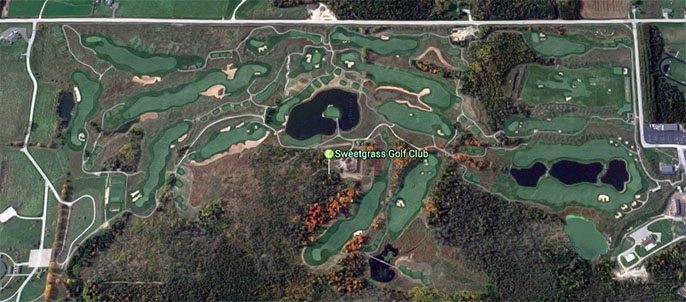 Sweetgrass Golf Club Bird's Eye View