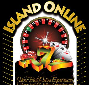 Island Online Logo Arced on White BG