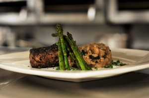 Pepper Crusted Filet Mignon