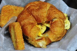 Egg, Bacon & Cheese Croissant