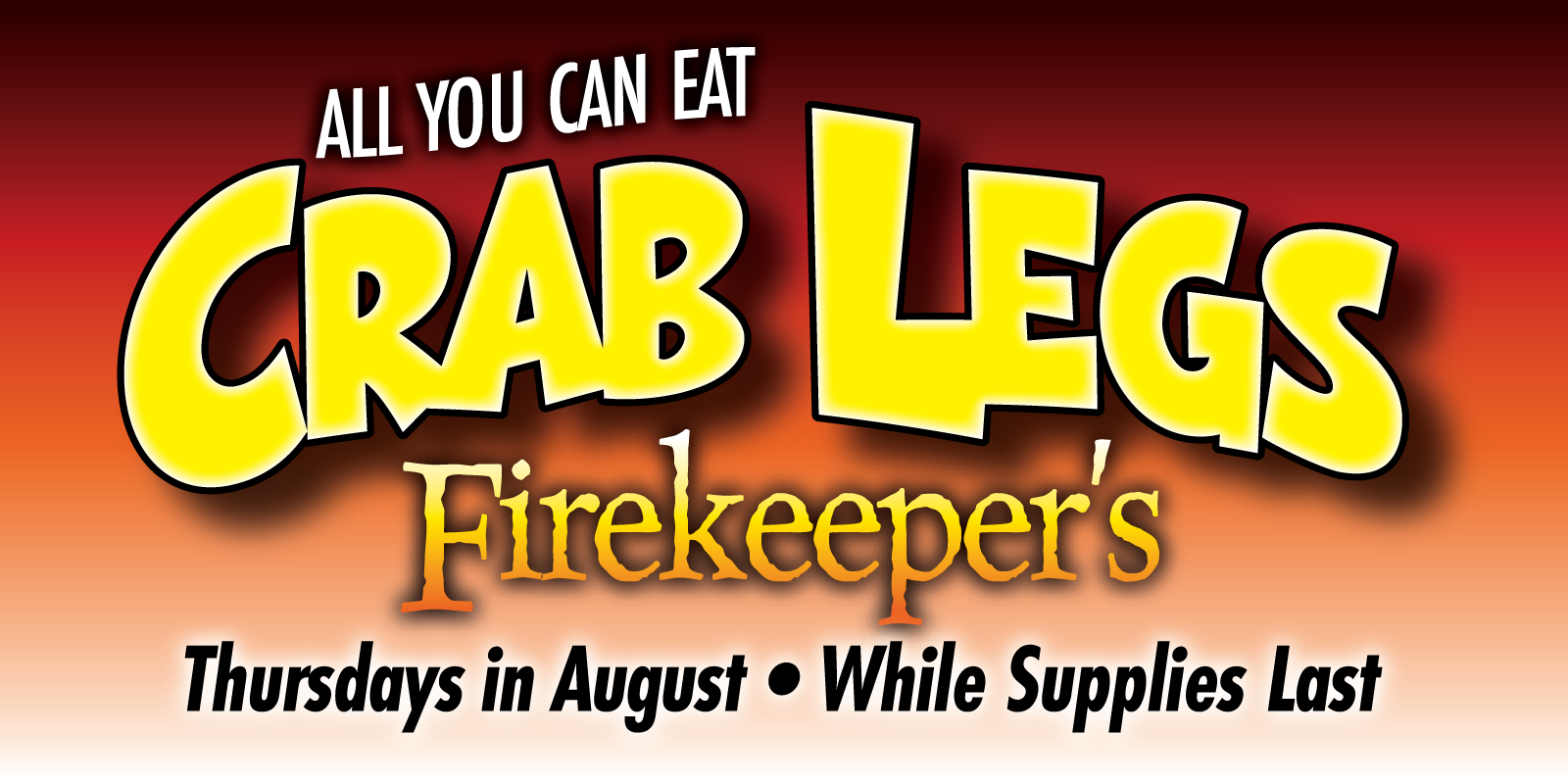 all you can eat crab legs in august firekeeper u0027s restaurant