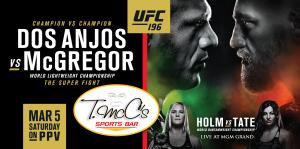 Dos Anjos vs McGregor Header