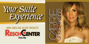 Web Header Promotion - Carrie Underwood Resch Center