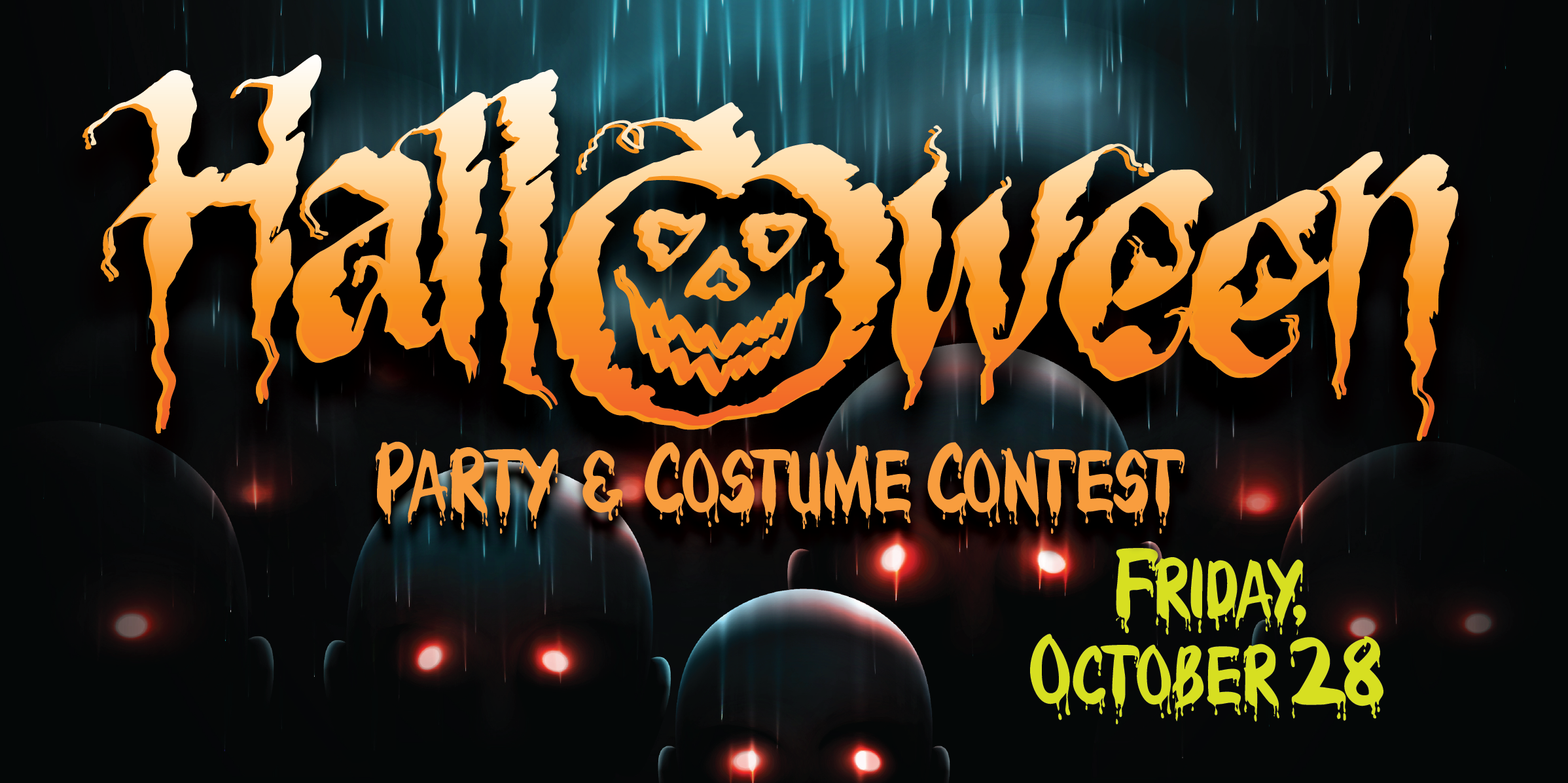 The island 39 s events promotions for october 2016 for Where to have a halloween party