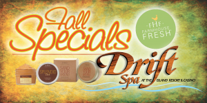 Web Header Drift Spa-Fall Specials