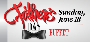 Web Header - Food & Beverage - Fathers Day Buffet 2017
