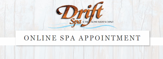 Online Booking for the Drift Spa