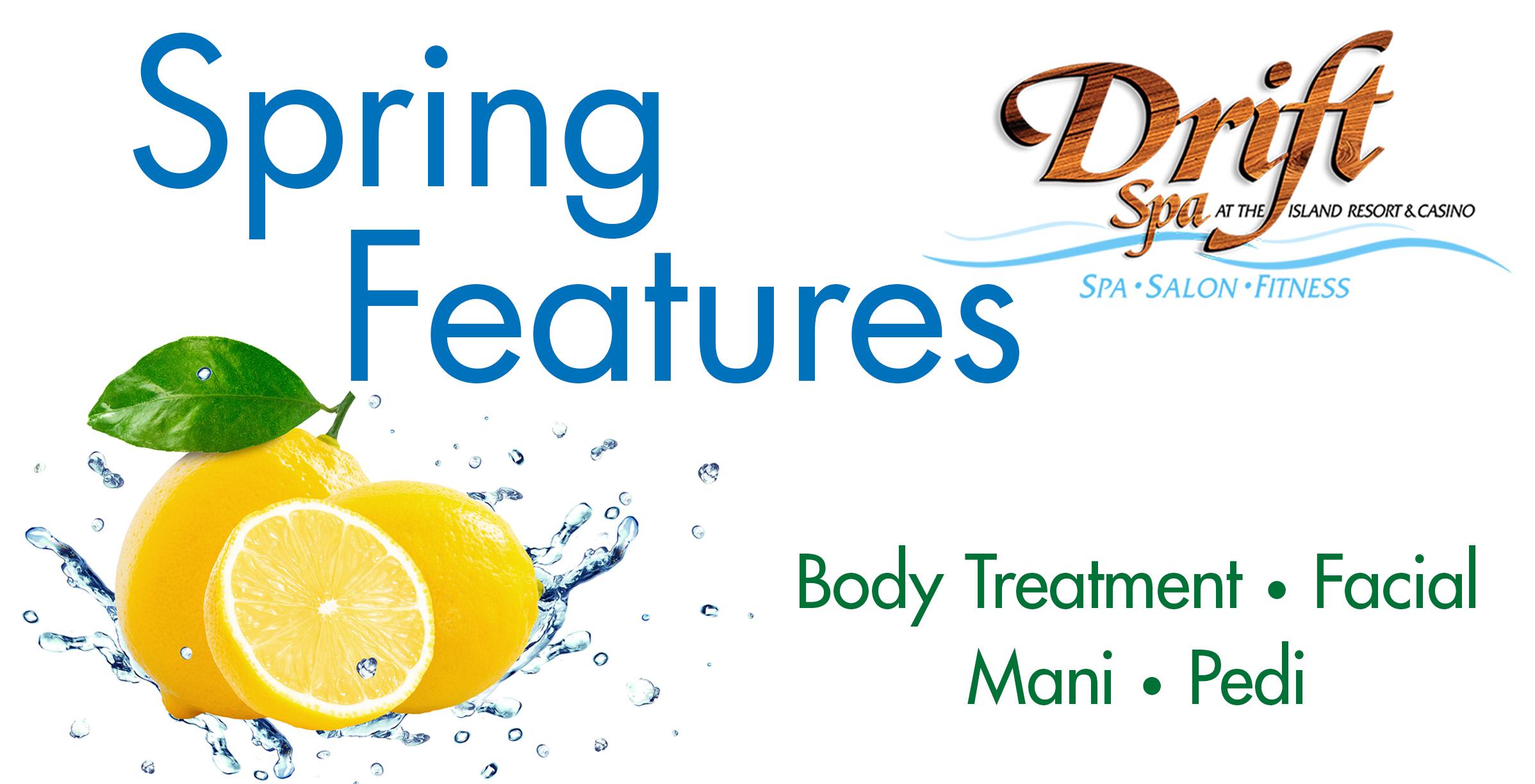 Spring Spa Specials at Drift Spa
