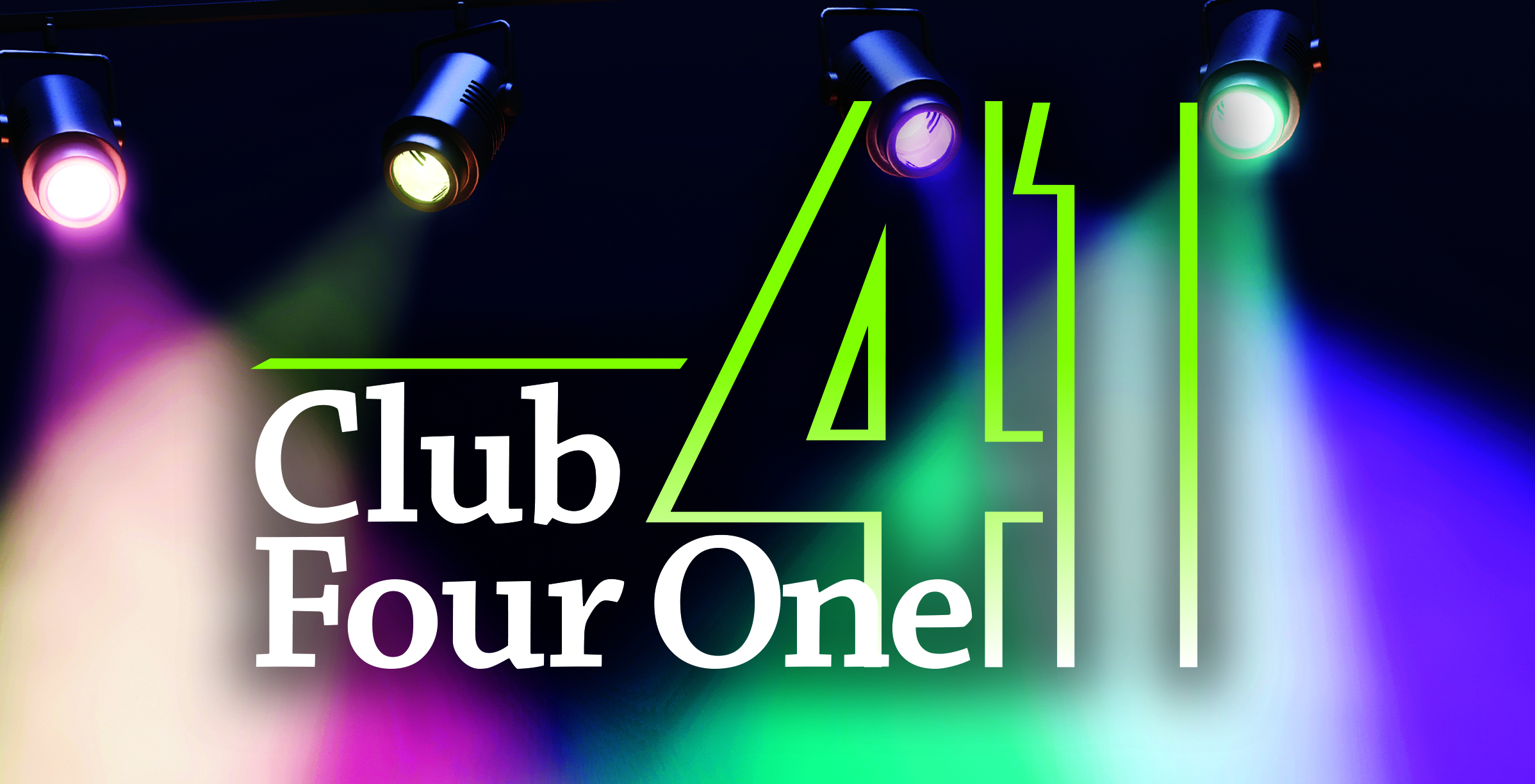 Free Entertainment in April at Club Four One