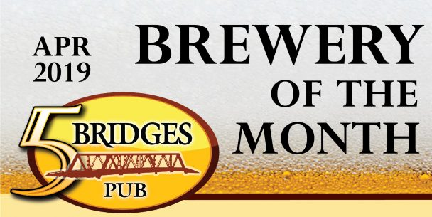 April Brewery of the Month