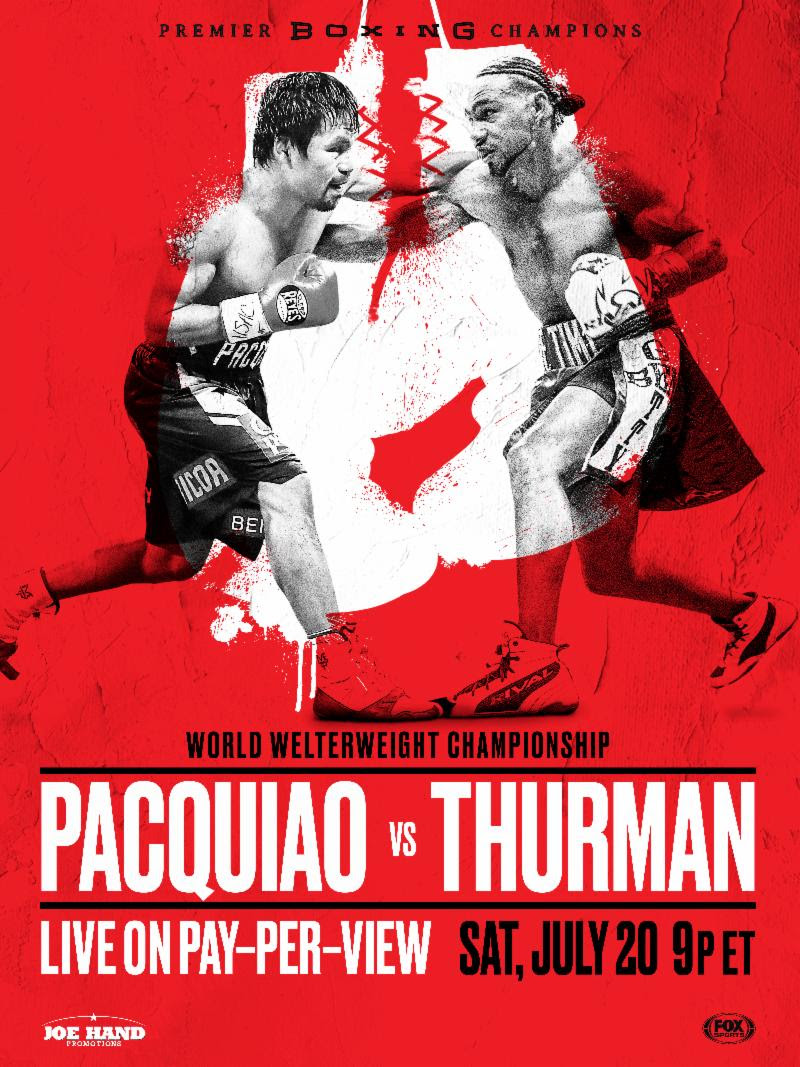 Pacquiao vs Thurman Watch Party
