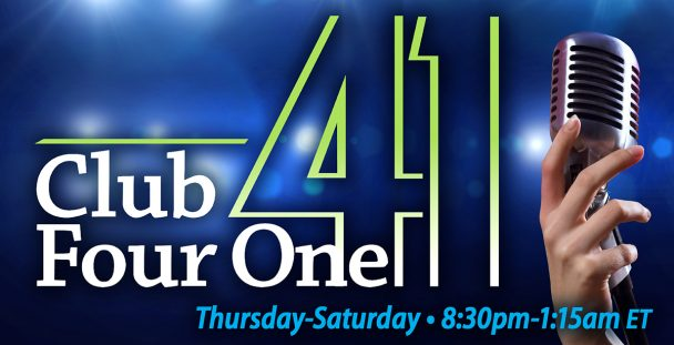 November Free Entertainment at Club Four One.