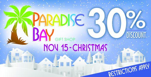 Paradise Bay 30% Coupon.