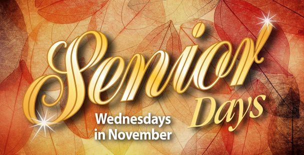 Senior Days in November at Island Resort & Casino.