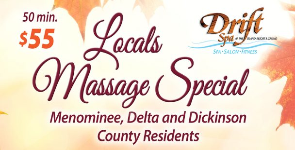 Local Massage Special at Drift Spa.