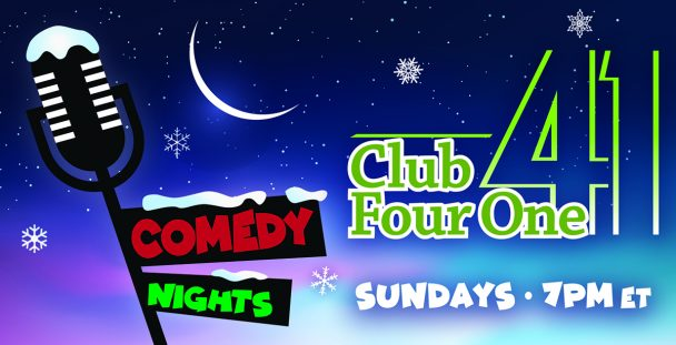 Comedy Nights at Club Four One.
