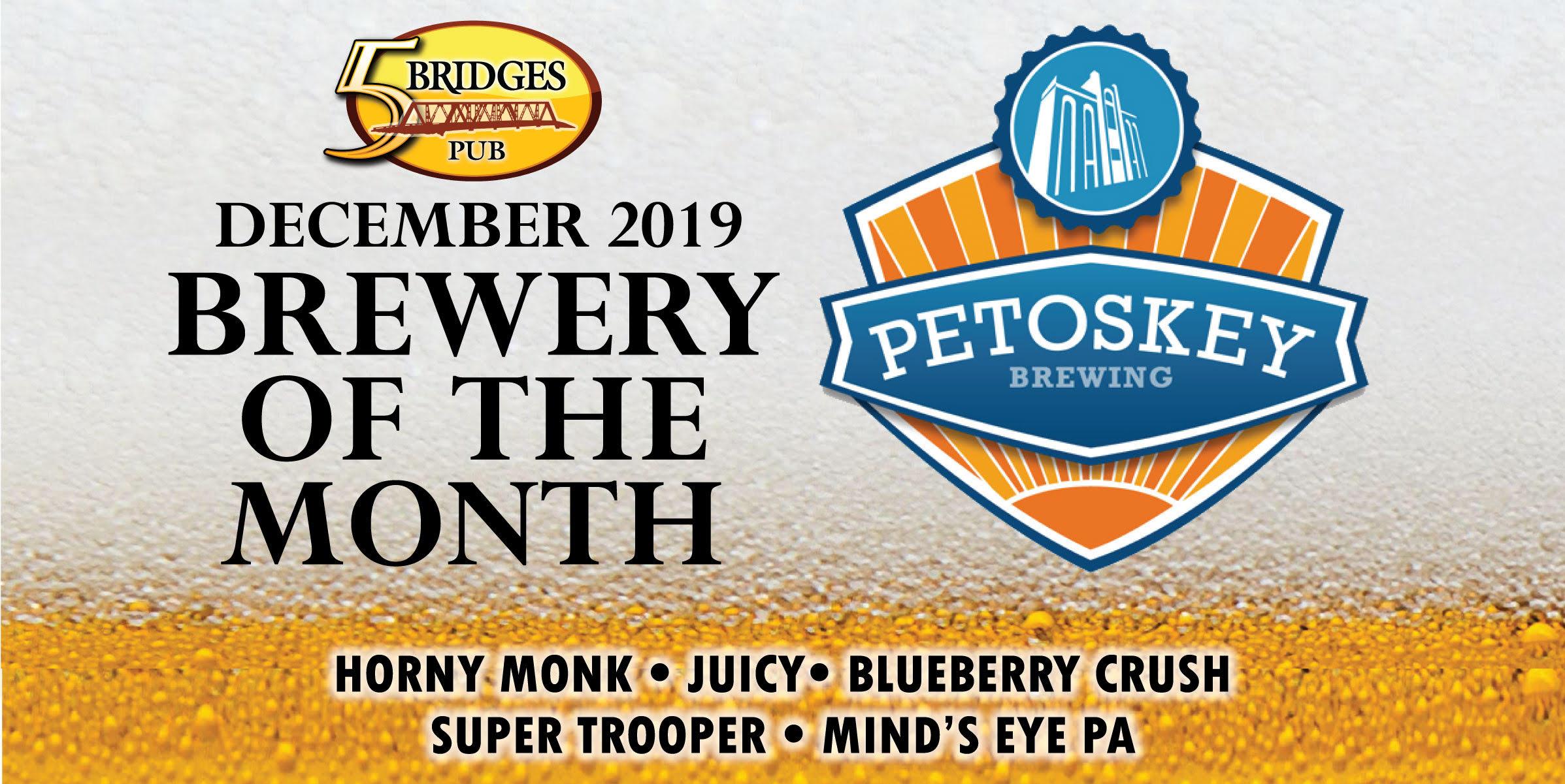 Petoskey Brewing at 5 Bridges Pub