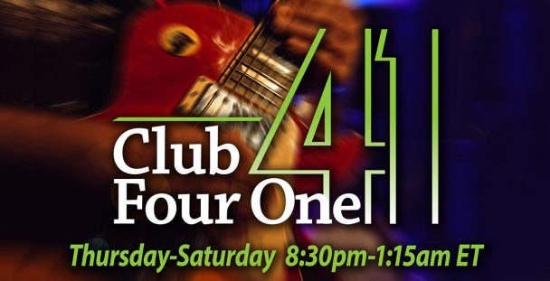 Club Four One Free Entertainment in January.