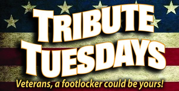 Tribute Tuesdays for Vets at Island Resort & Casino.