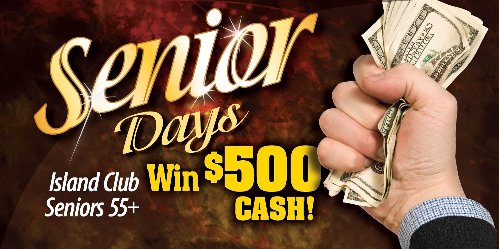 Seniors Win $500 Cash August '14