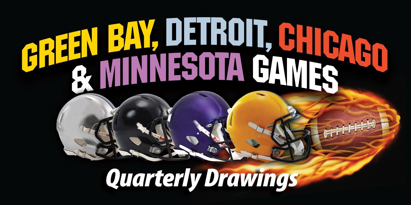 GB, Chicago, Detroit & MN Games Web Image