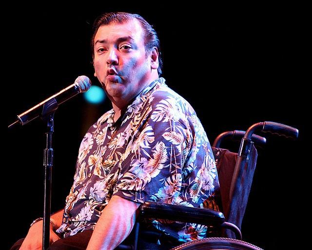 Comedian Chris Crazy Legs Fonseca