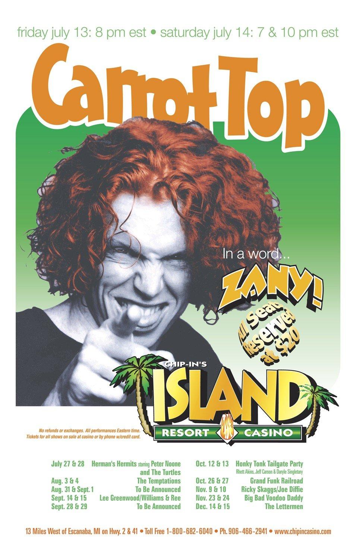 Carrot Top Poster
