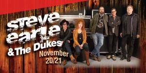 Web Header Headline - Steve Earle and the Dukes