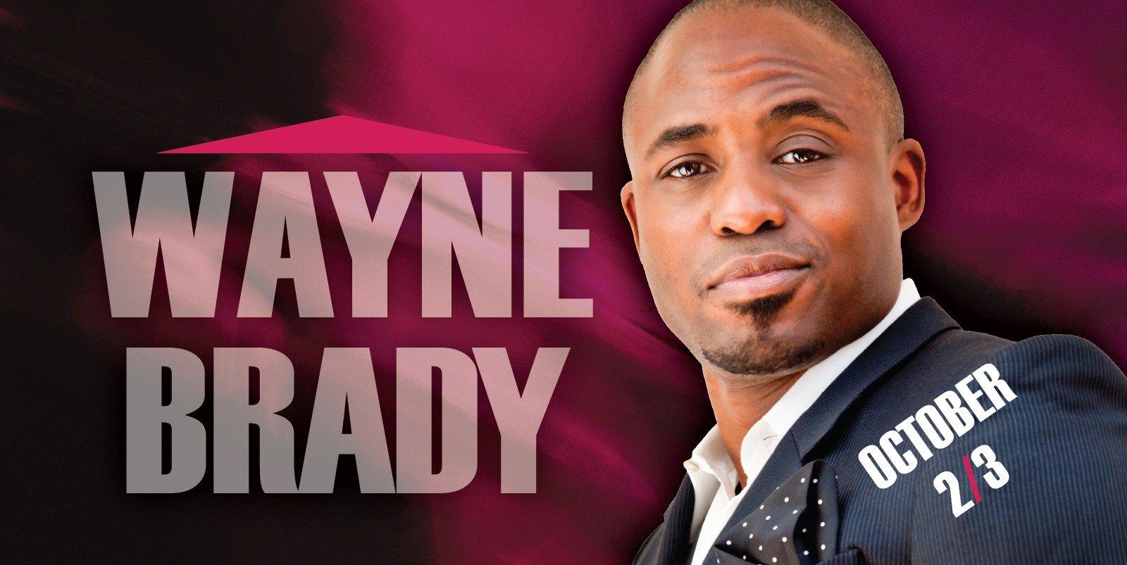 Web Header Headline - Wayne Brady