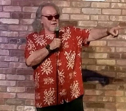 Comedian Chili Challis