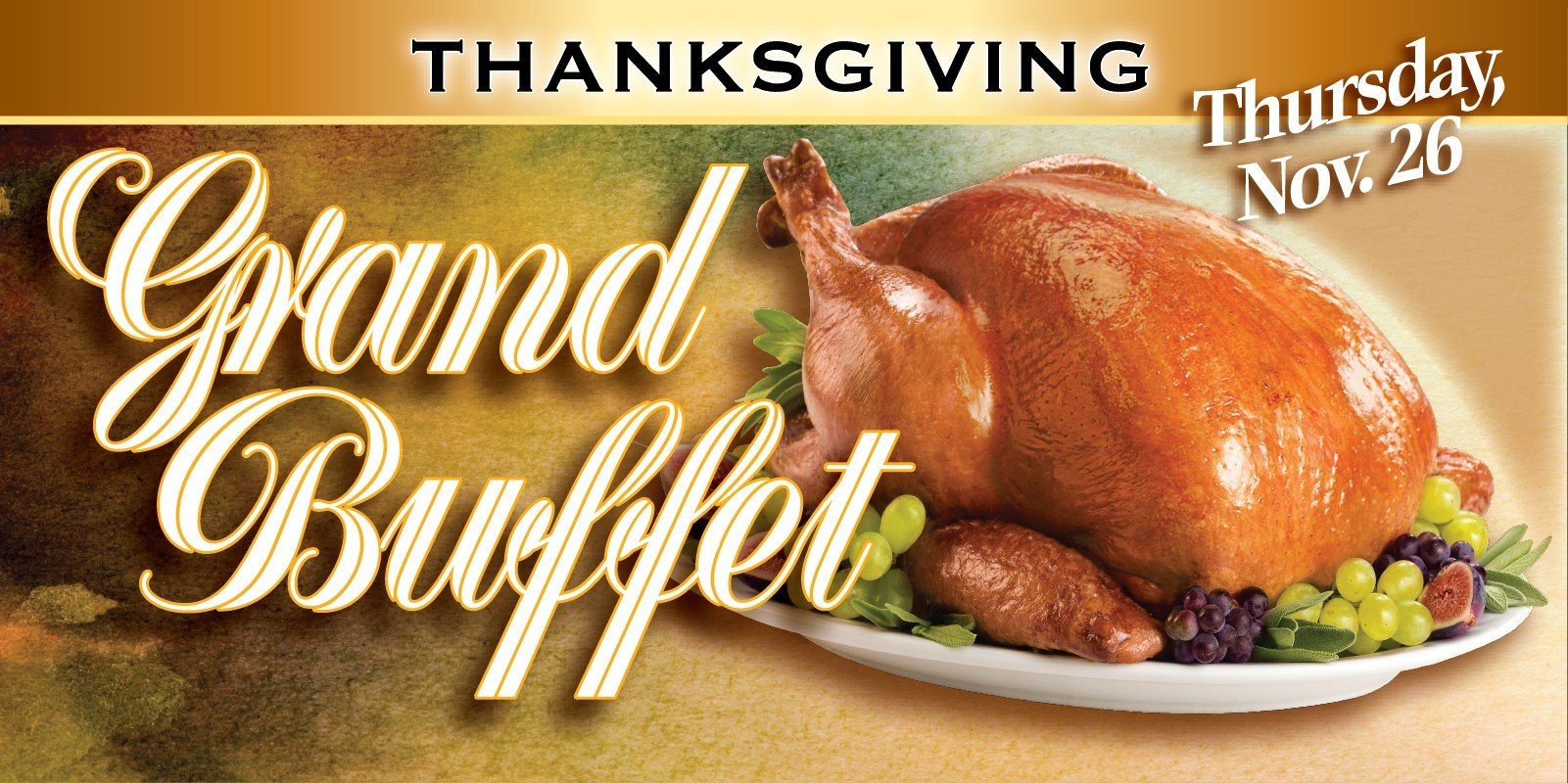 Web Header Promotion-November Thanksgiving Buffet