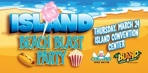 Web Header Promotion - Island Beach Party