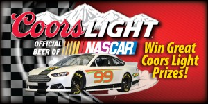 Web Header Promotion - NASCAR Coorslight