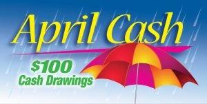 Web Header Promotion - April Cash