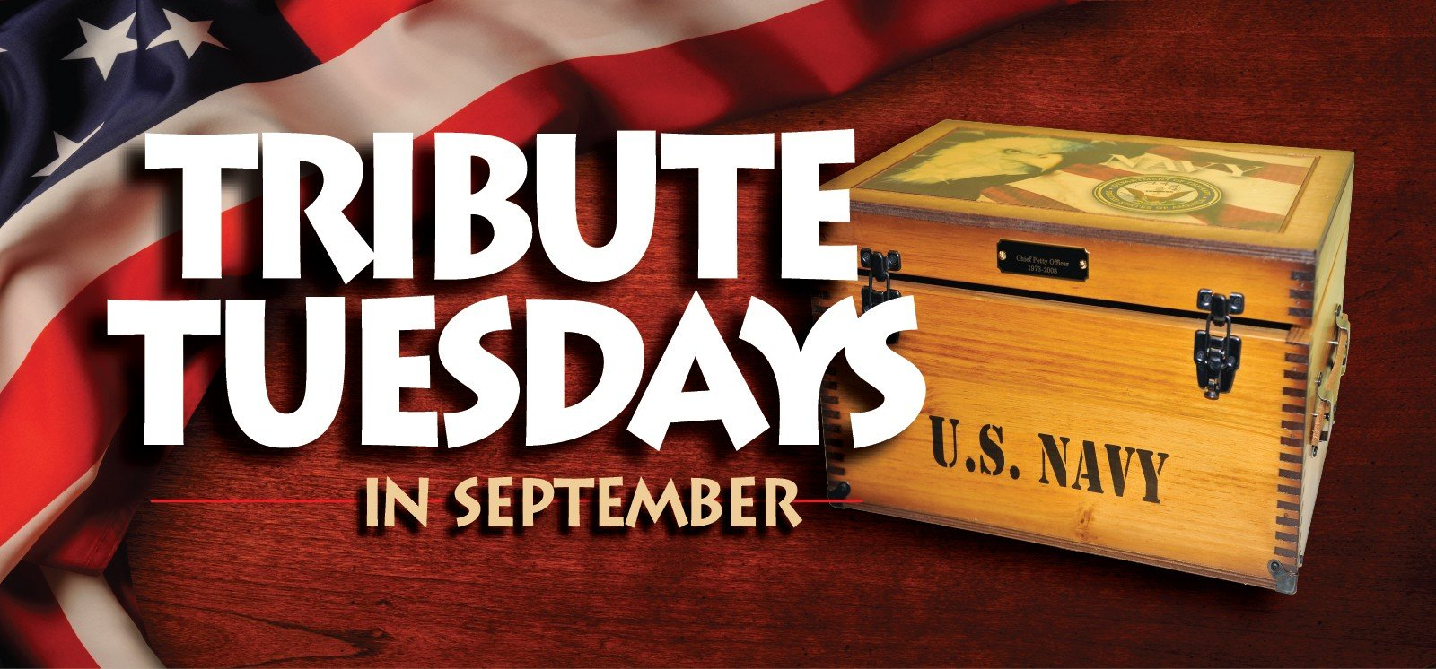 Web Header Promotion - September Tribute Tuesdays