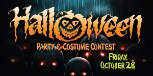 Web Header Promotion - Halloween Party