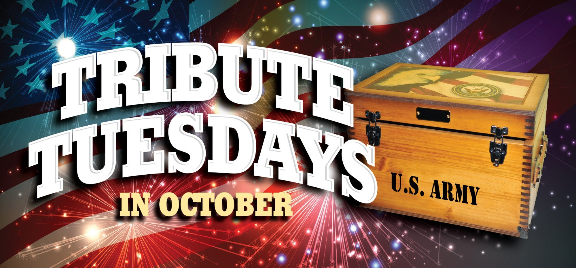 Web Header Promotion - October Tribute Tuesdays